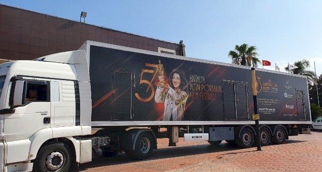 Altın Portakal sinema tırı yolculuğuna başladı